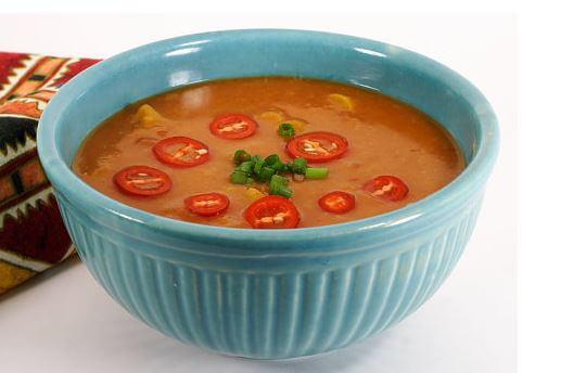 Southwestern Split Pea Soup