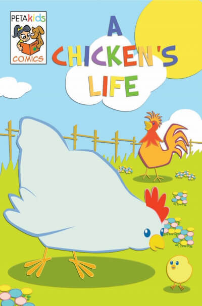 a chicken's life comic book
