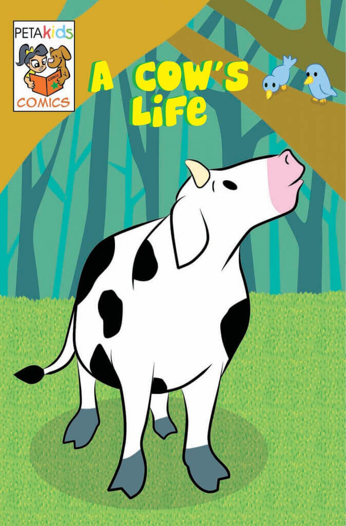 a cow's life comic book
