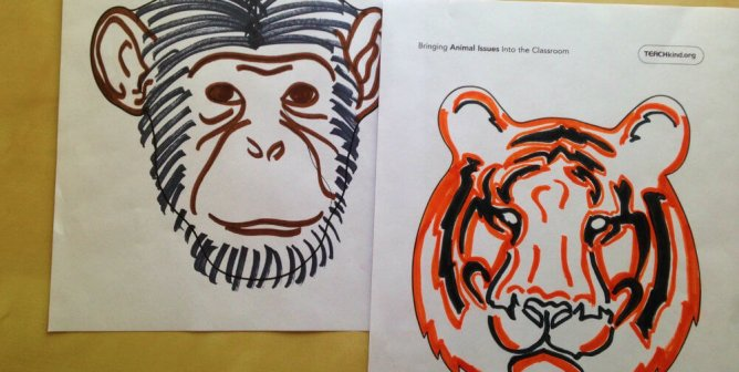 Create Your Own Animal Masks