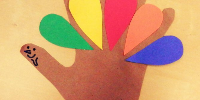 Thanksgiving Class Project: Give Turkeys a Hand!