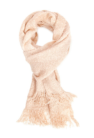 Forever 21 Pastel Pink Scarf