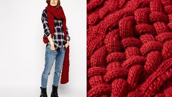 Wool-Free Winter Scarves