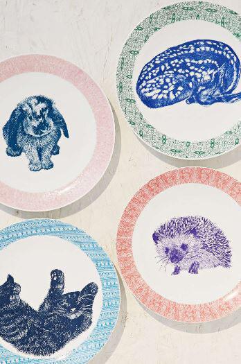 Critter plates
