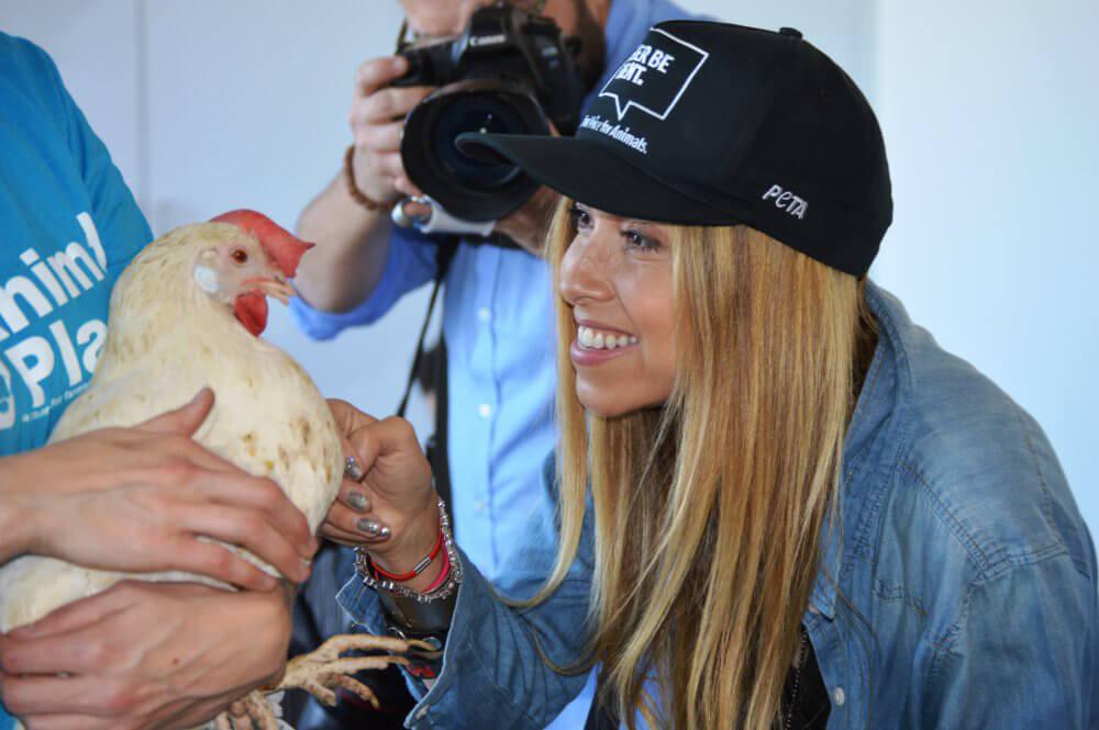 PETA Chicken Adoption Event