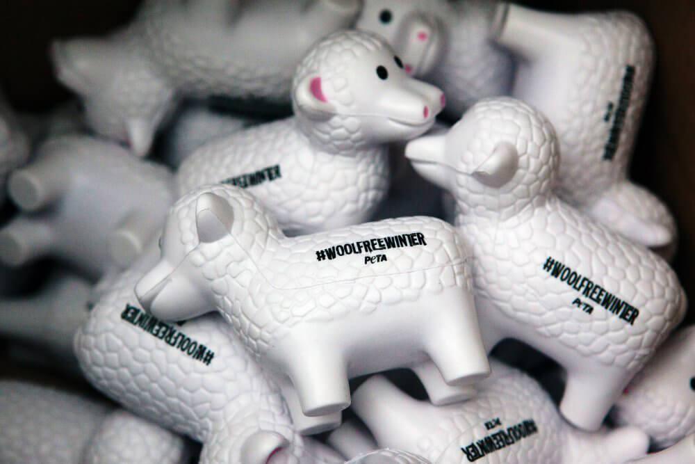 Sheep-Shaped Stress Balls