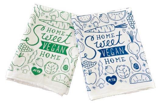 PETA Tea Towels