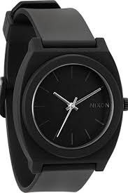 The Nixon Black Matte Watch