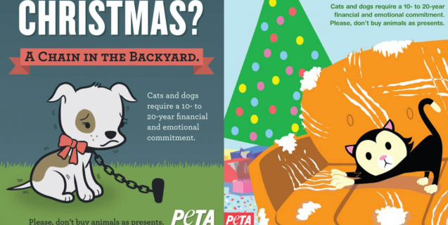 Ads Explain Why Animals Shouldn\'t Be Given as Gifts | PETA