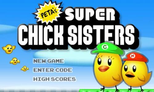 PETA's Super Chick Sisters