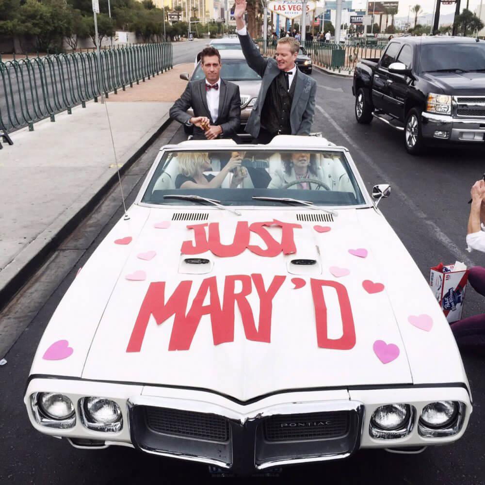 Dan Mathews and Jack Ryan Wed in Las Vegas