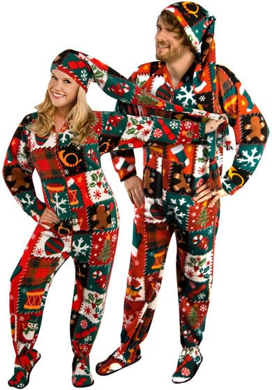 opposuits happy holidude ugly christmas sweater suit - Christmas Sweater Suit