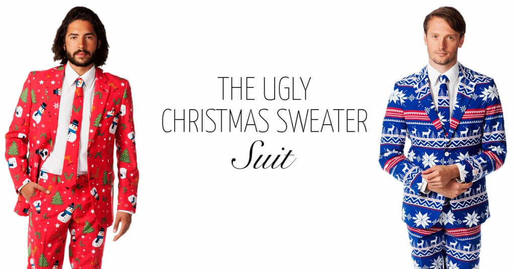 Ugly Christmas Sweater Suit | Milledoni - Spot on gifts