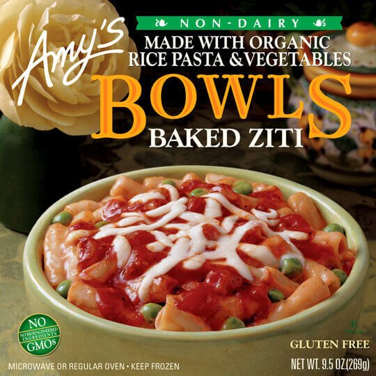 Amy S Baked Ziti Bowl
