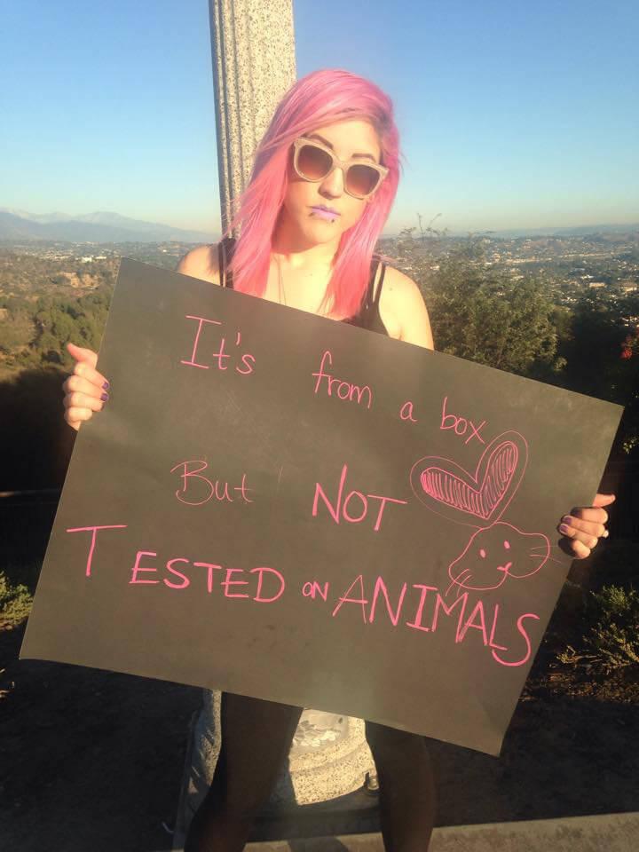 Hair dye Vegan Animal Rights Myth