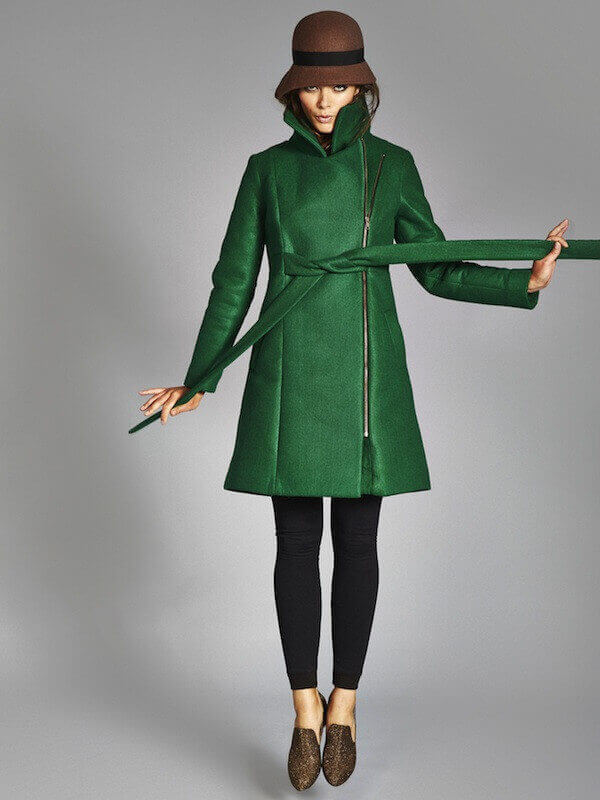 Wool-Free Coat by Vaute Couture