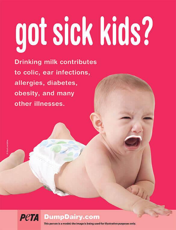 Got Sick Kids? Anti-Dairy Ad