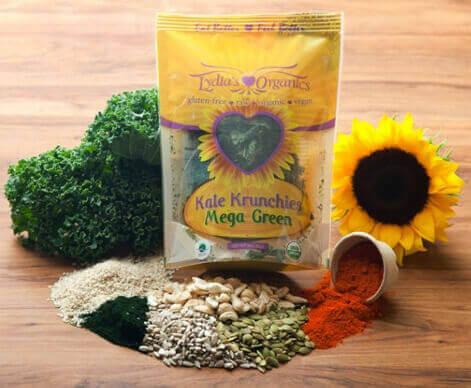 Mega Green Kale Chips
