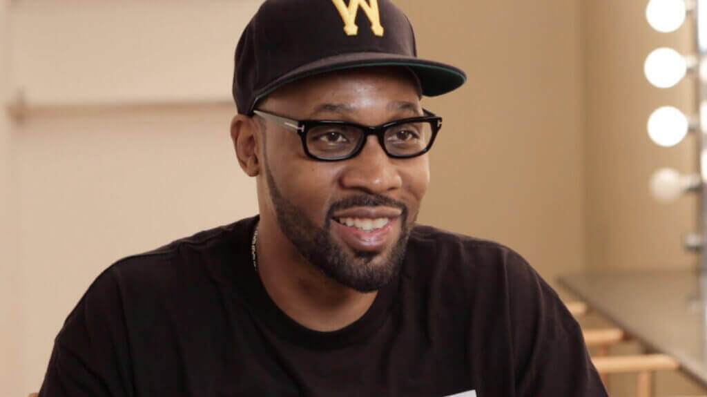 RZA Smiling