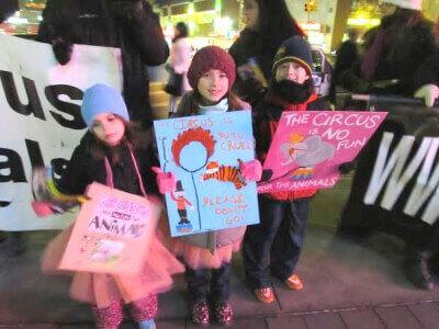 Ballerina-Led Ringling Bros. Protest