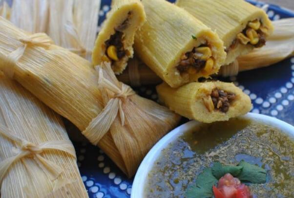 Corn Lentil Tamales