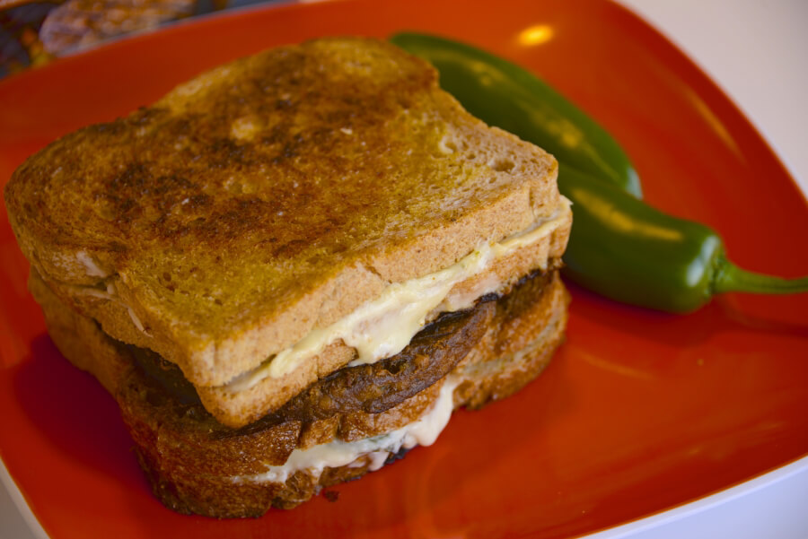 Jalapeno Popper Grilled Cheese-burger Whole