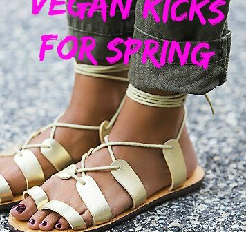 Spring Has Sprung! Find Your Favorite New Cruelty-Free Kicks to Frolick in All Season Long
