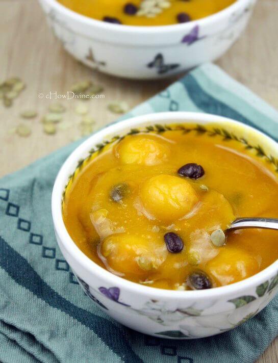 HobakJuk Korean Pumpkin Porridge