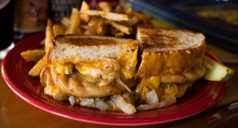 Melt Grilled Cheese