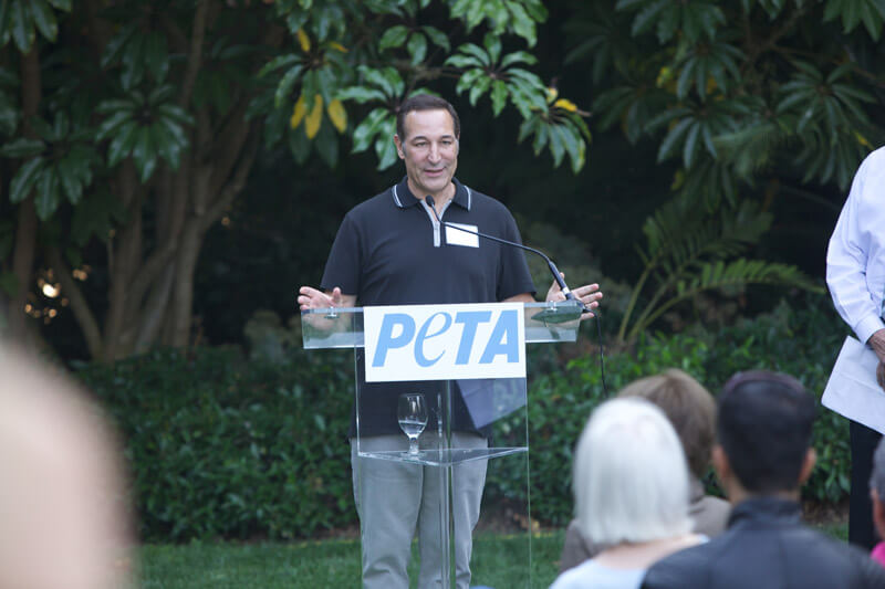 Sam Simon PETA Speech