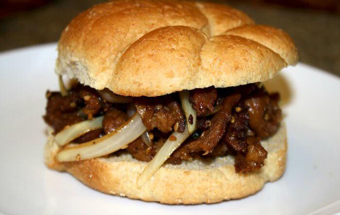 Vegan Bulgolgi Sandwich