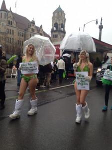 St. Patrick Lettuce Ladies Demo
