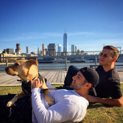 Hot Dudes with Dogs 5