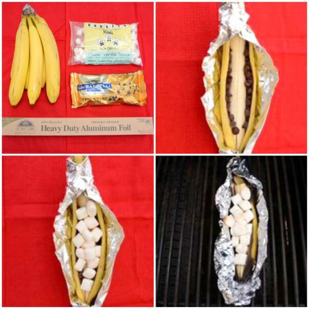 Banana S'more Boat