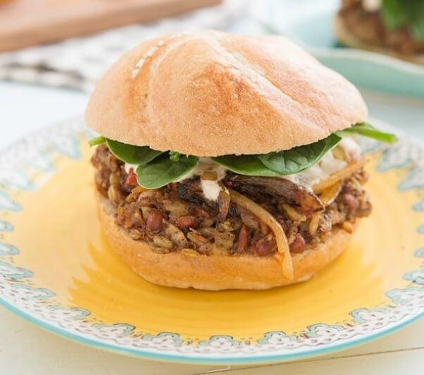 Freekeh Vegan Burger
