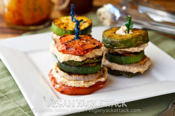 Grilled Summer Stacks