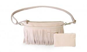 Nude-Fringe-Belt-Bag-Strap-Charm-Wallet