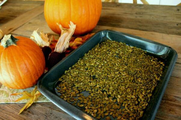 Unroasted pumpkin seeds
