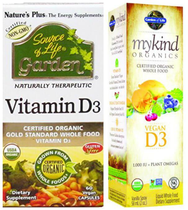Vitamin d vegan supplement