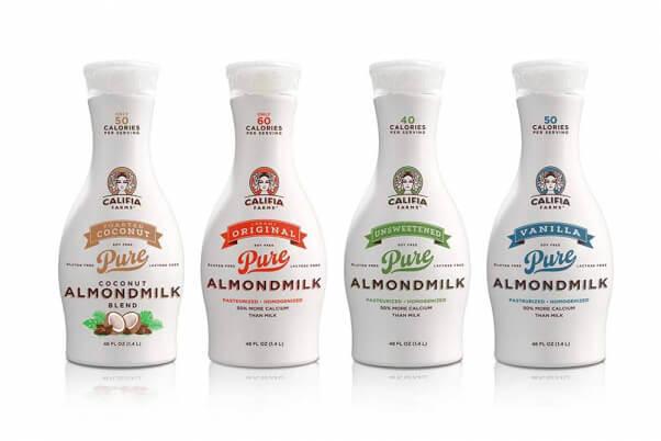Vegan Sources of Calcium Califia Farms Almond Milk