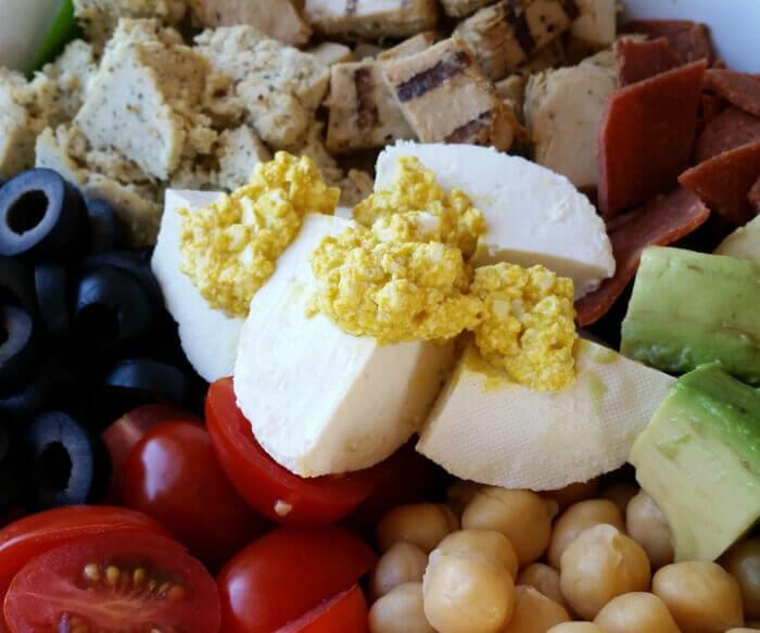 Tofu 'Eggs'