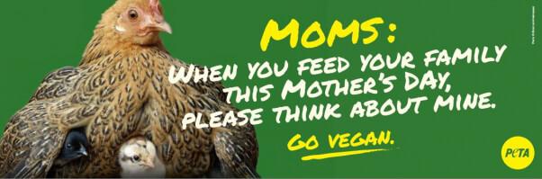 PETA Mother's Day Billboard