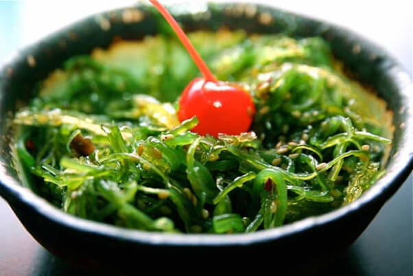 Vegan Sources of Calcium Seaweed Salad