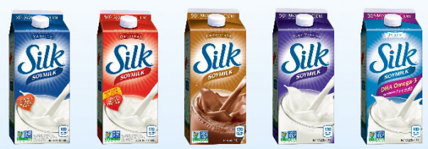 Vegan Sources of Calcium Silk Soy Milk