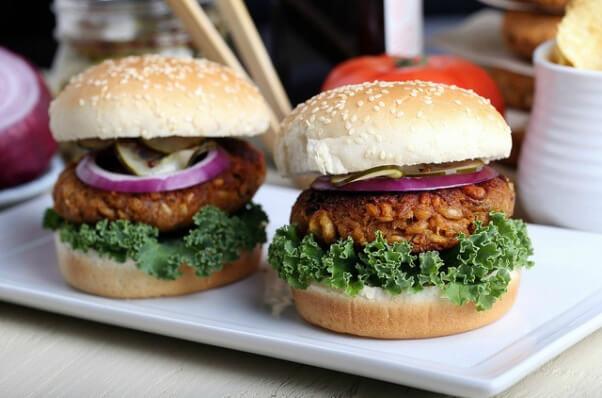 sweet potato burger vegan