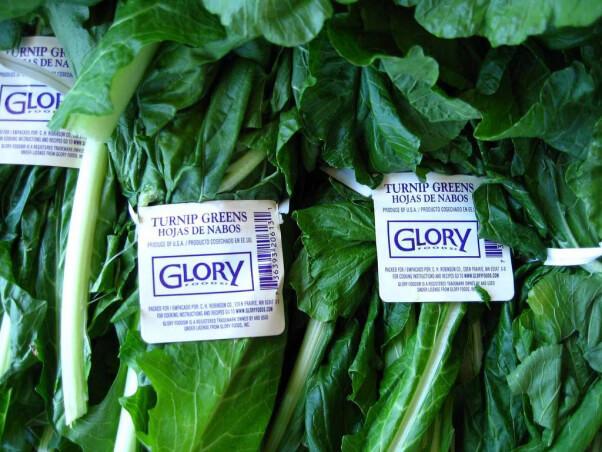 Vegan Sources of Calcium Turnip Greens