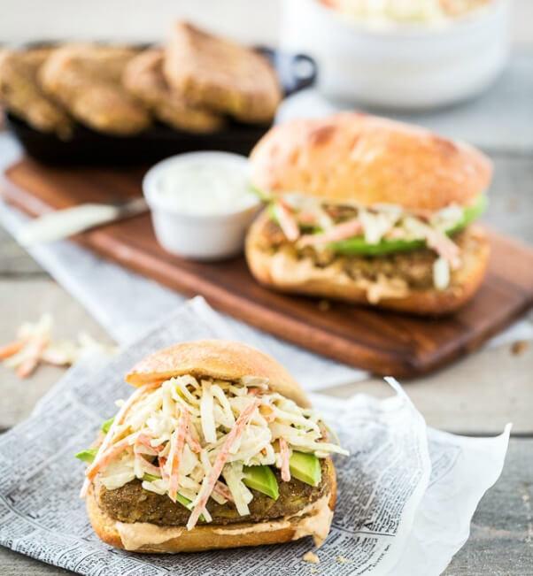 Filet-o-Chickpea-Sandwich