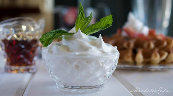 Michelle Cehn Aquafaba Whipped Cream