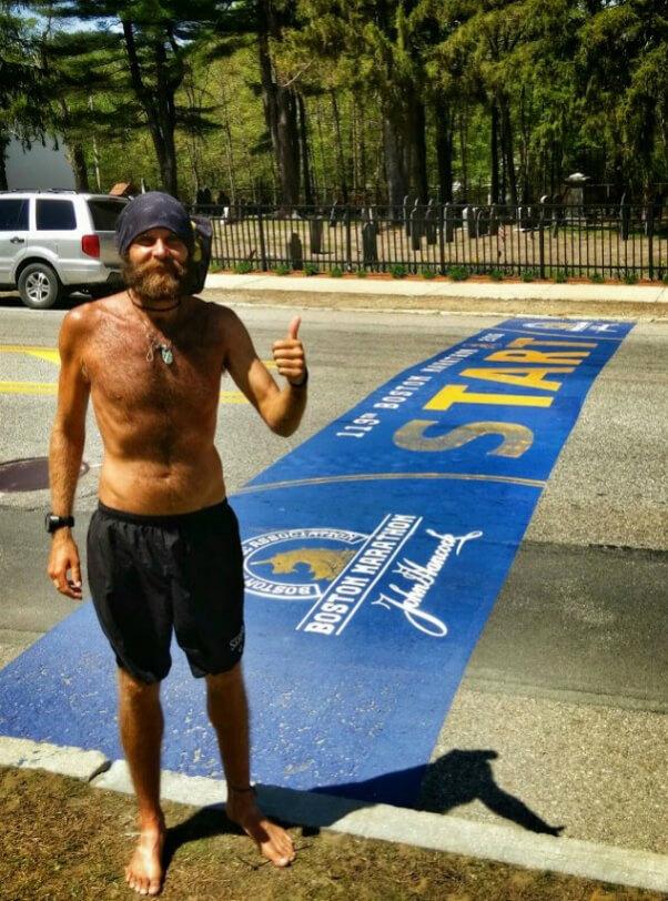Patrick Sweeney Boston Marathon