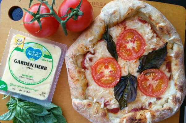 Pizza with Follow Your Heart